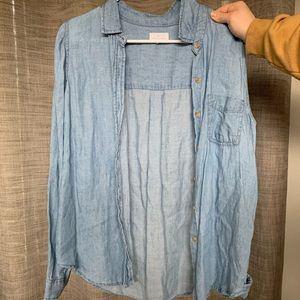 Thread and supply denim shirt